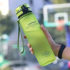 Botella tritan verde 800 ml