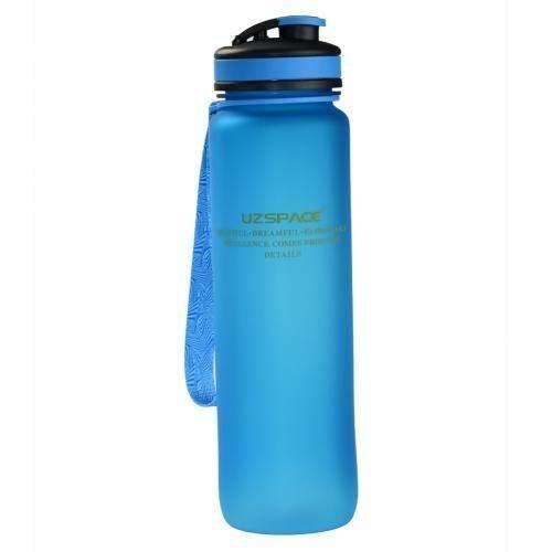 Botella tritan azul 1l