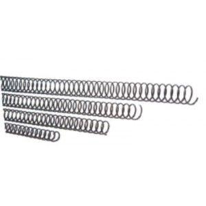 Espiral metal 5:1 14mm negro