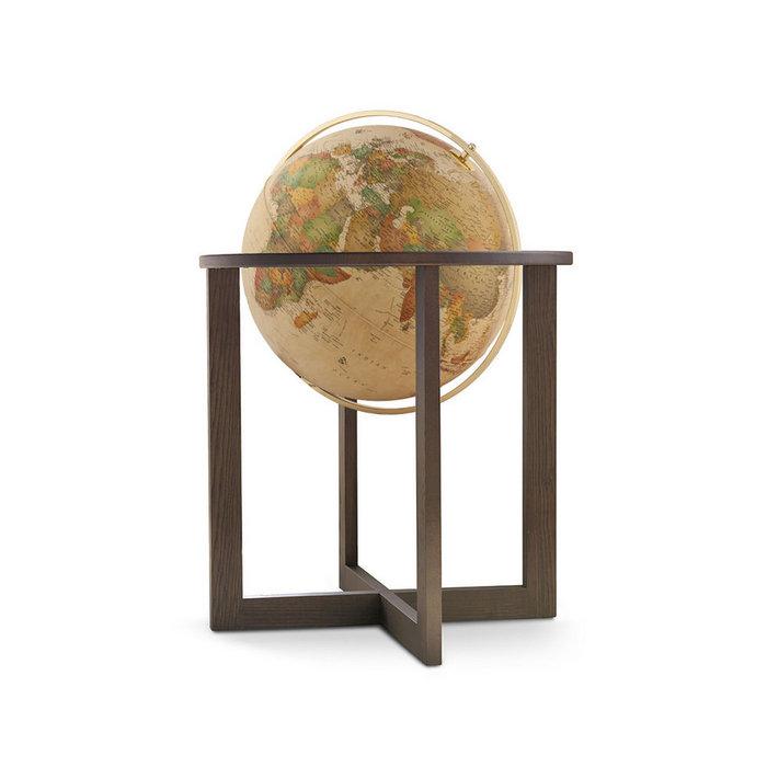 Esfera de piso cross antigua 50 cms