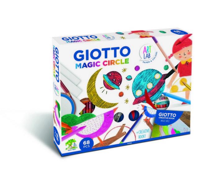 Set de pintura giotto magic circle