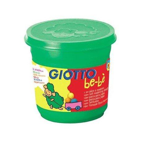 Giotto bebe super pasta para jugar 220 gr verde