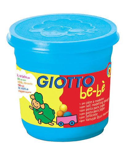 Giotto bebe super pasta para jugar 220 gr azul