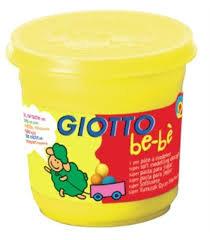 Giotto bebe super pasta para jugar 220 gr amarillo