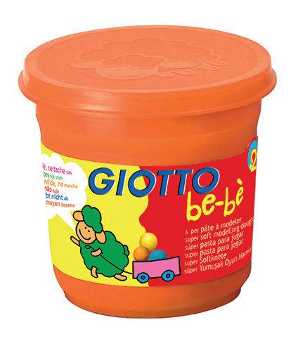 Giotto bebe super pasta para jugar 220 gr naranja