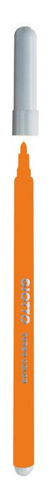 Rotulador giotto turbo color naranja caja 12 ud