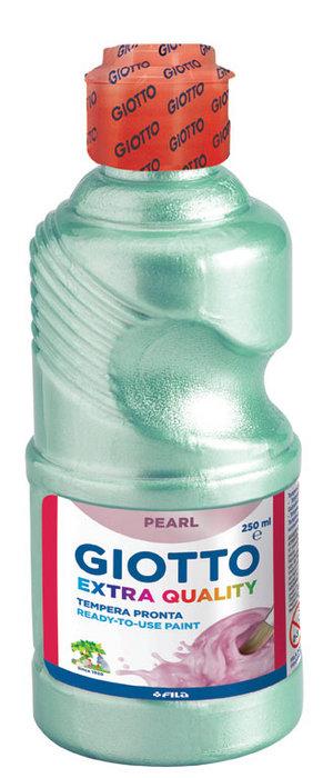 Tempera liquida giotto 250ml nacarada verde