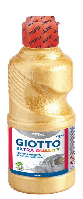 Tempera giotto 250ml metalizada oro
