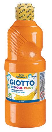 Tempera escolar giotto 500ml naranja