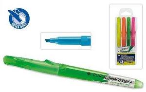 Rotulador fluor tratto emphasis verde
