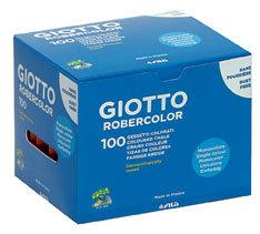 Tiza giotto robercolor rojo caja 100 ud