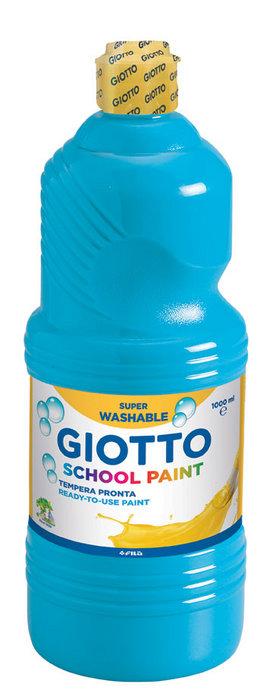 Tempera lavable giotto azul cyan 1000 ml