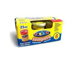 Tempera carioca 25 ml amarillo