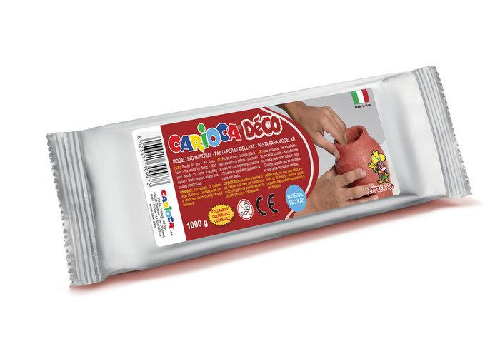 Pasta para modelar deco terracota 1000 gr