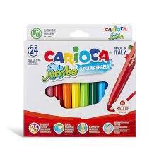 Rotulador carioca jumbo caja 24 uds