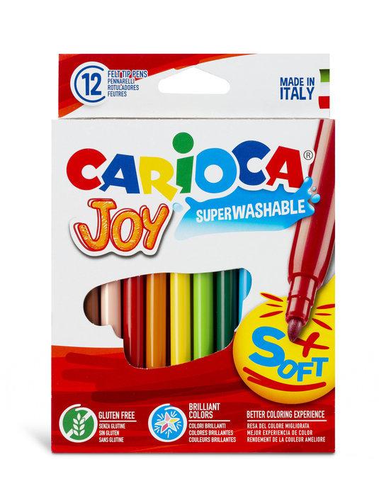Rotulador carioca 12/c joy