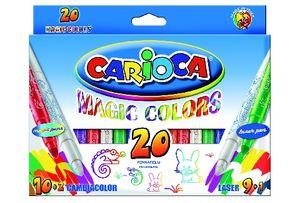 Rotuladores magic markers caja 20 uds