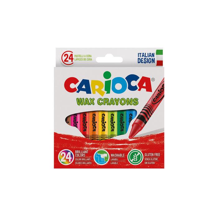 Ceras pastel caja 24 uds