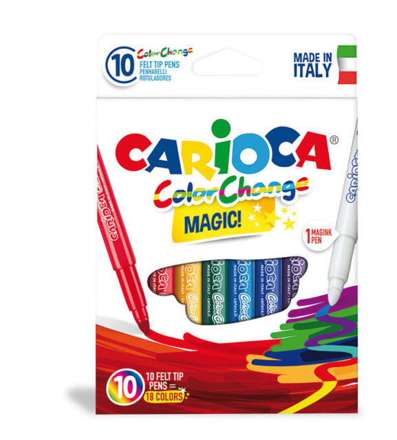 Rotuladores color change caja 10 uds
