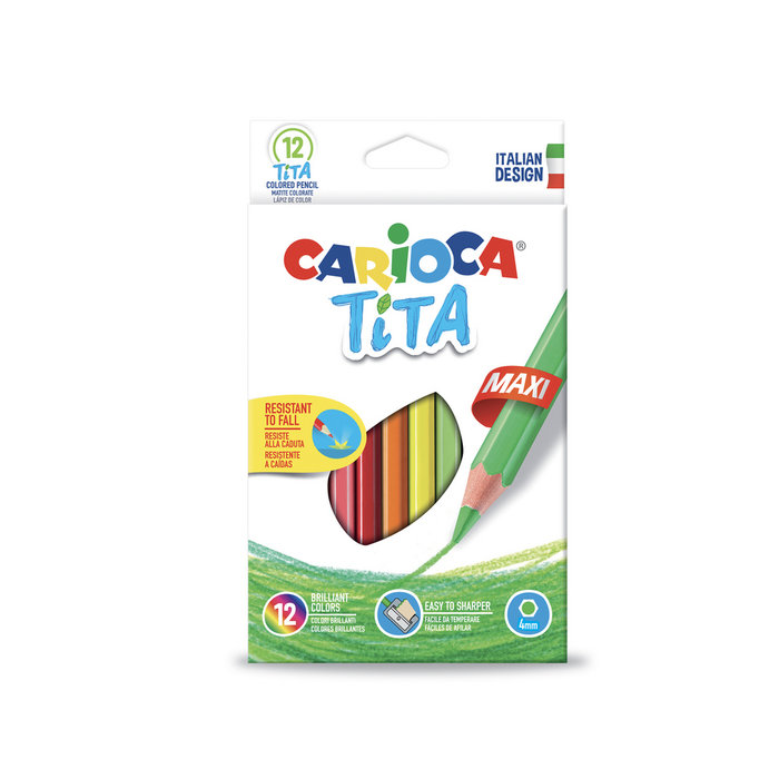Lapices tita maxi caja 12 uds