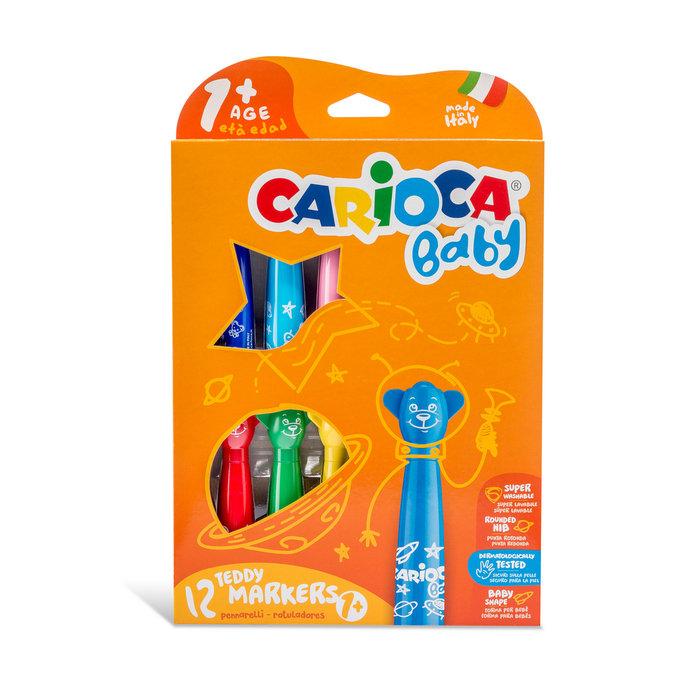 Rotuladores teddy marker 1+ caja 12 uds
