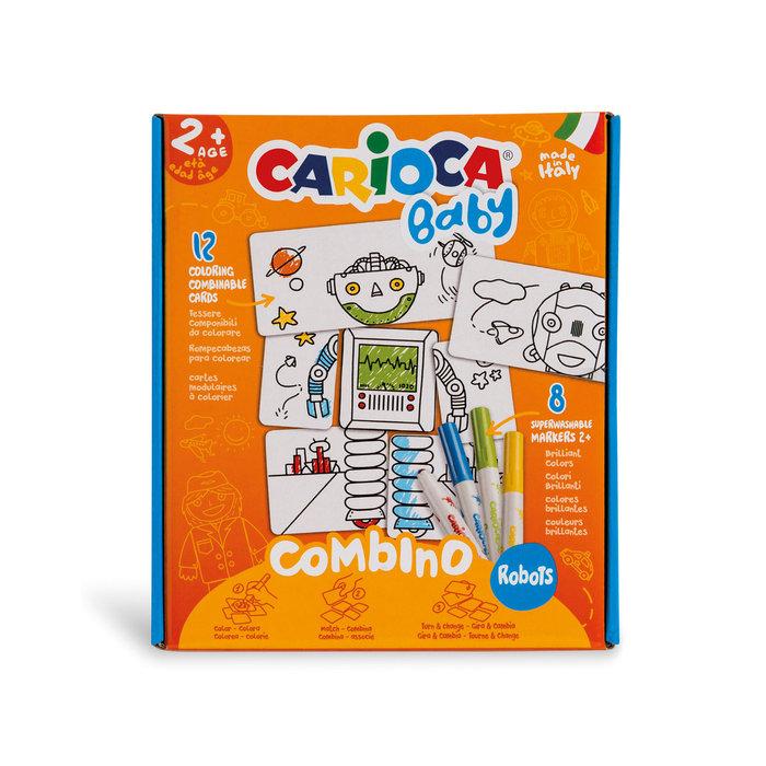 Rompecabezas carioca baby combino robots