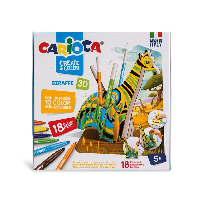 Carioca create & color giraffe