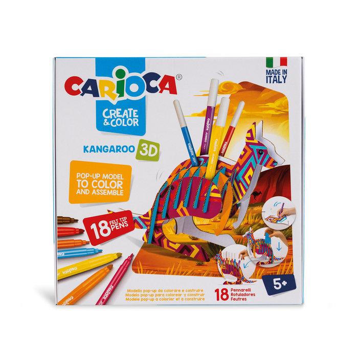 Carioca create & color kangaroo