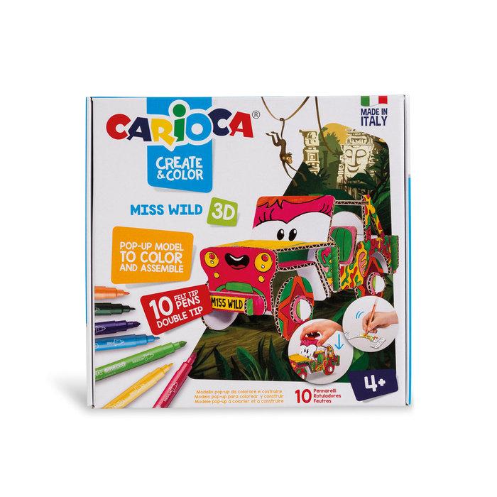 Carioca create & color ms. wild