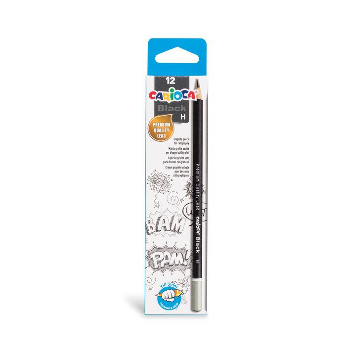 Lapices grafito black pencils h