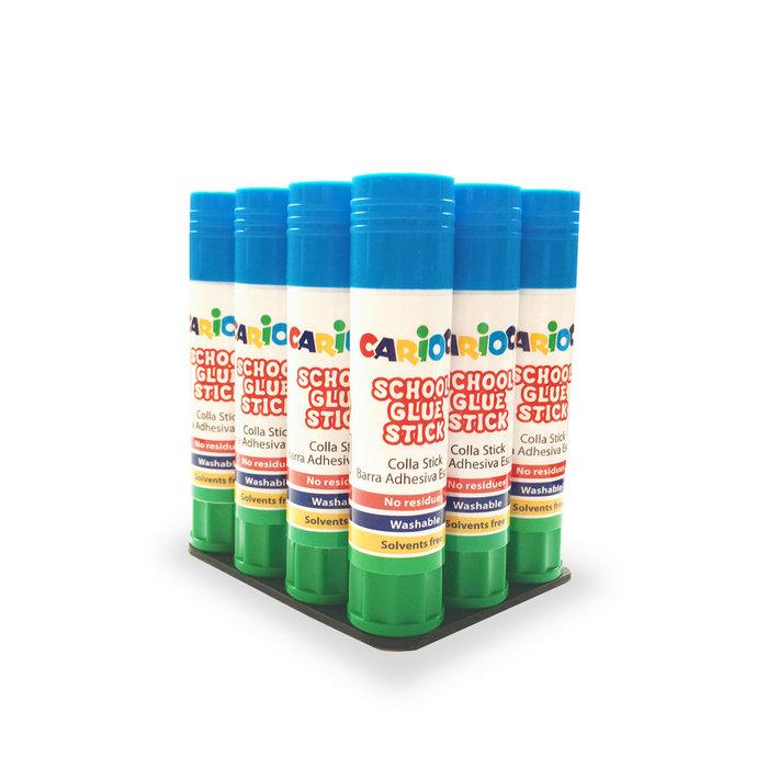 Pegamento glue stick 20 gr bolsa 12 uds