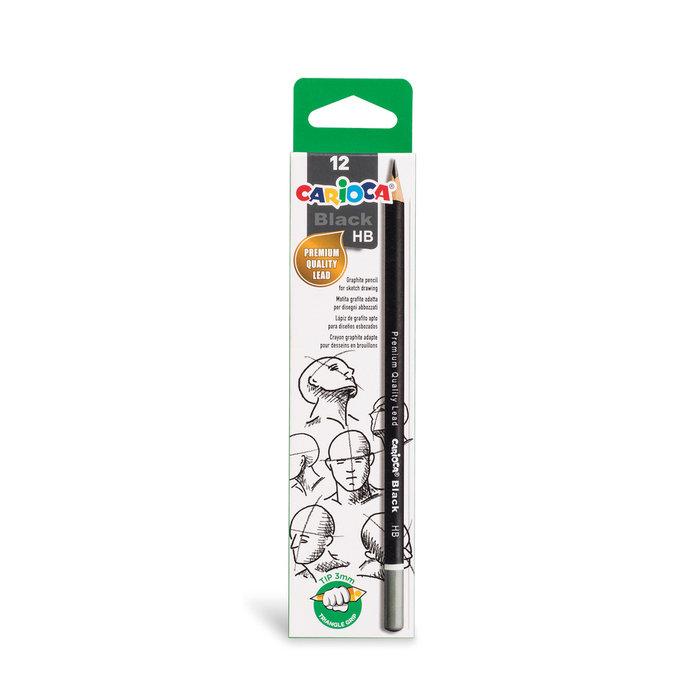 Lapiz grafito black pencils hb