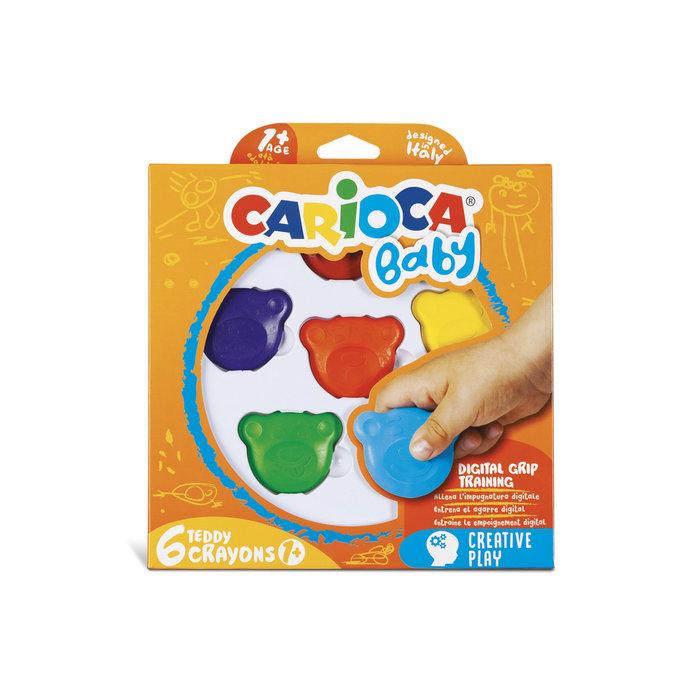 Ceras teddy 1+ caja 6 uds