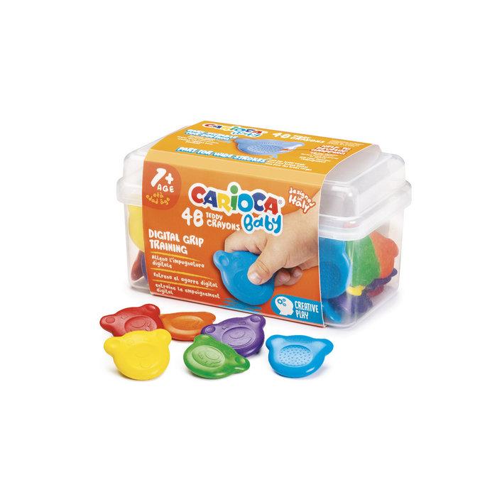 Ceras teddy 1+ caja 48 uds