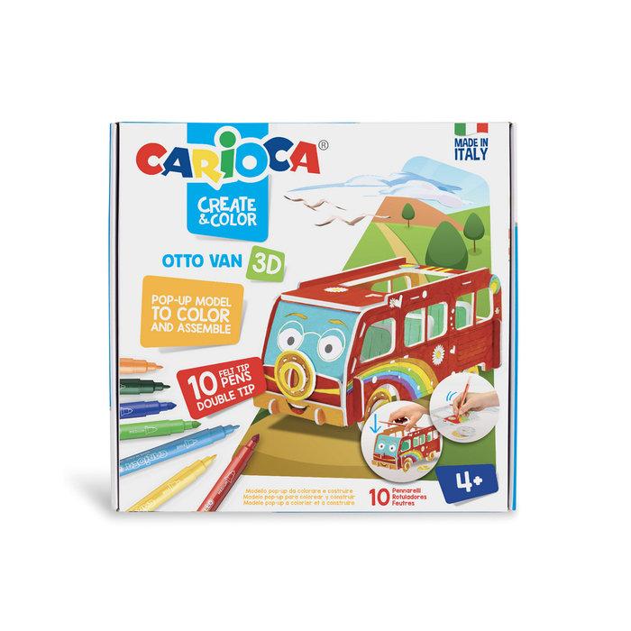 Carioca create & color otto van