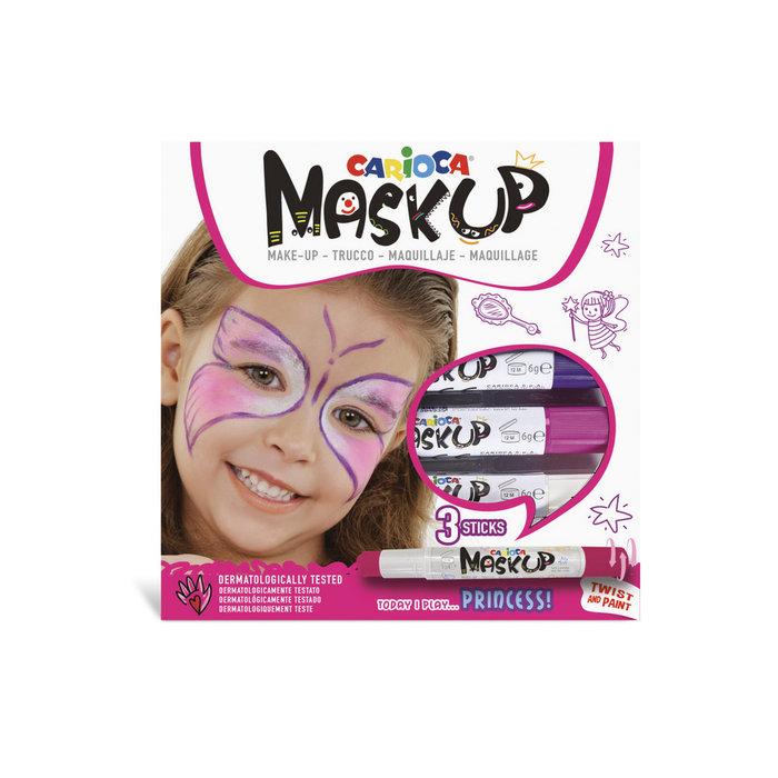Barras maquillaje mask up princess caja 3 uds