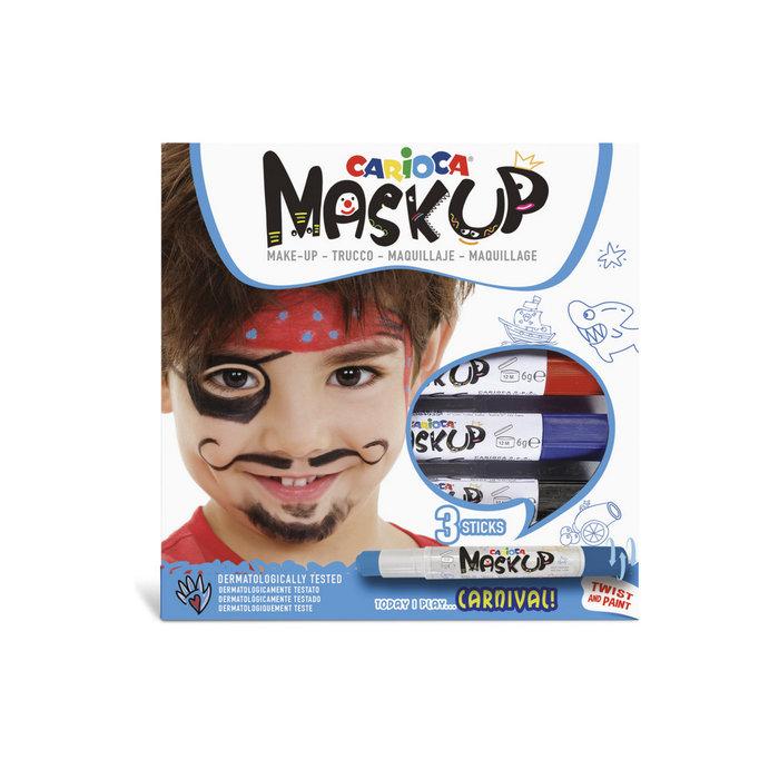 Barras maquillaje mask up carnival caja 3 uds