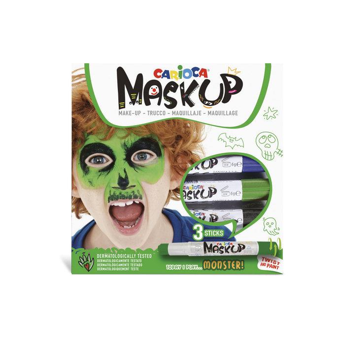 Barras maquillaje mask up monster caja 3 uds