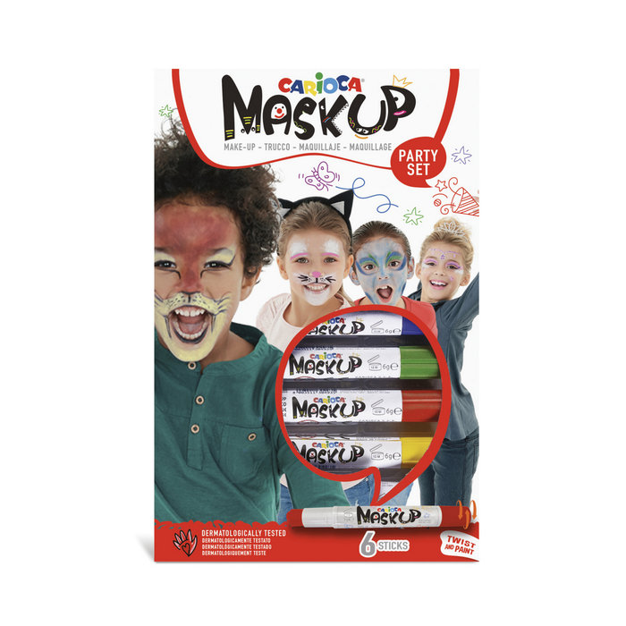 Maquillaje mask up party 6 colores