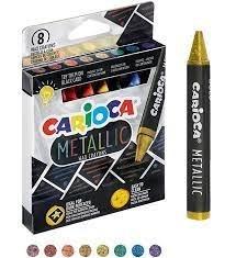 Cera carioca metallic 8 colores