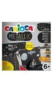 Set carioca metallic pop up