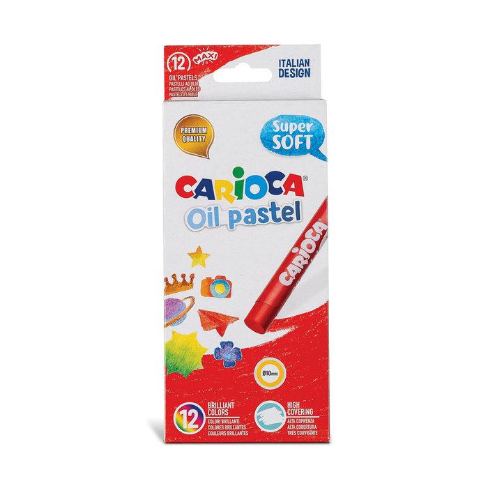 Ceras oil pastel blister carton 12 uds