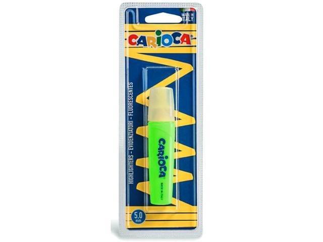Marcador carioca memolight verde blister 1 ud