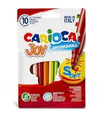 Rotulador carioca joy blister carton 10 uds