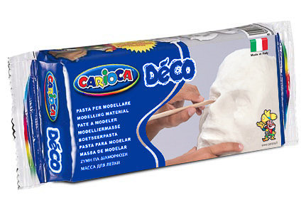 Pasta para modelar deco blanco 500 gr