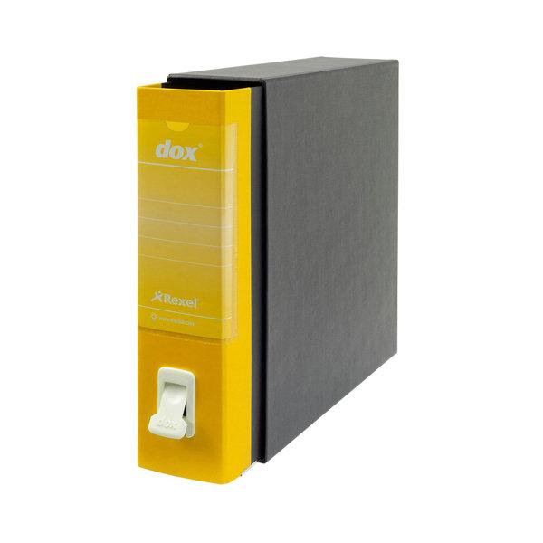 Archivador de palanca dox folio amarillo amarillo