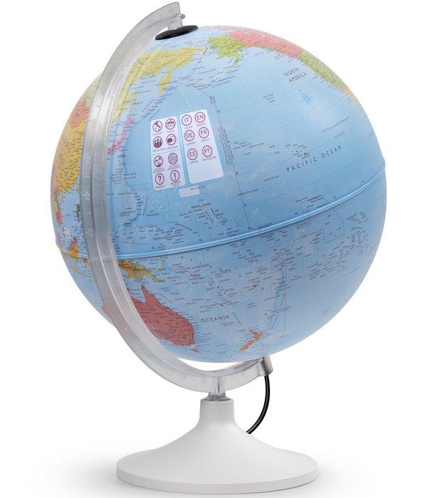 Esfera 30cm con luz interactiva parlamondo