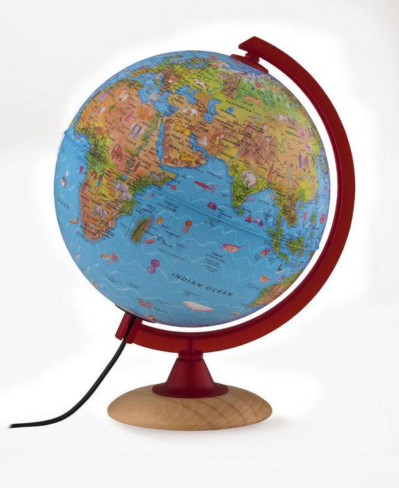 Esfera color circus 25 cms