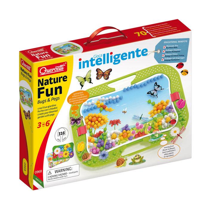 Juego quercetti naturaleza insectos 320pz