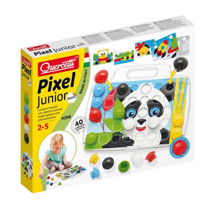 Juego quercetti arte visual junior set inicio 40pz